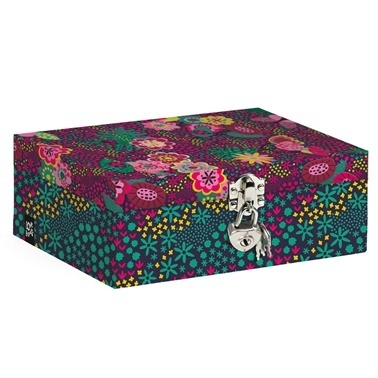 Busquets Hatıra Kutusu Renkli